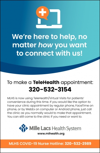 We're Here to Help, No Matter How You Want to Connect with Us