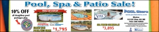 Pool, Spa & Patio Sale!