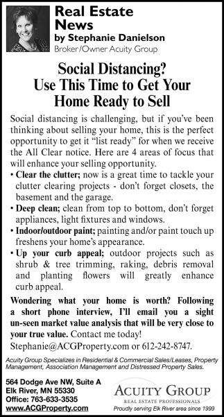 Social Distancing? Use this Time to Get Your Home Ready to Sell
