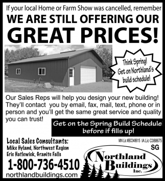 We are Still Offering Our Great Prices!