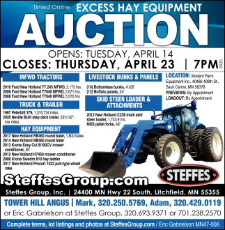 Excess Hay Equipment Auction