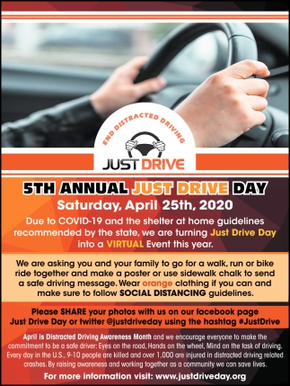 5th Annual Just Drive Day