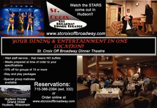Your Dining & Entertainment in One Location!