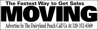 Advertise in the Dairyland Peach