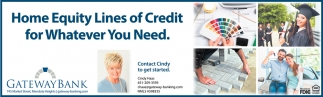 Home Equity Lines of Credit for Whatever You Need