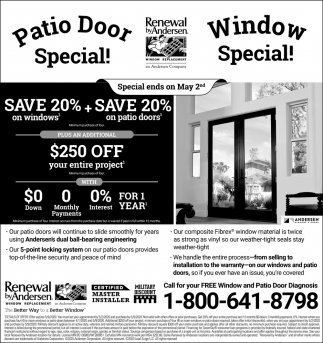 Window Special!