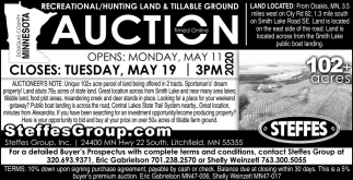 Recreational/ Hunting Land & Tillable Ground