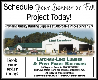 Schedule Your Summer or Fall Project Today!