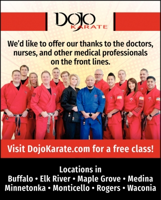 Visit DojoKarate.com for a FREE Class!