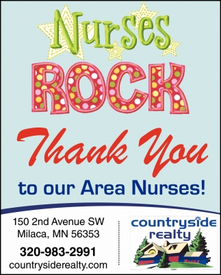 Thank You to Our Area Nurses!