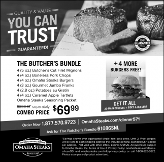 The Butcher's Bundle