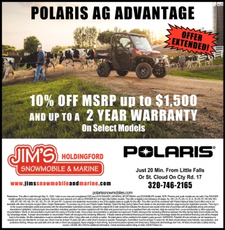 Polaris AG Advantage