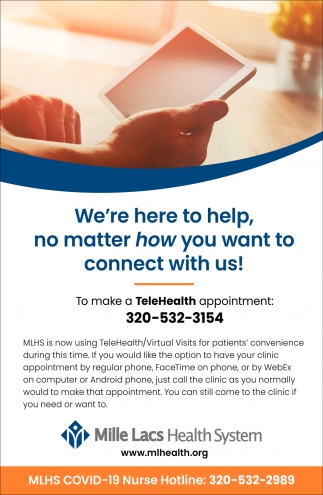 We're Here to Help, No Matter How You Want to Connect with Us!