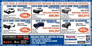 FREE Paint & Interior Protection Package on Every New Vehicle Purchase