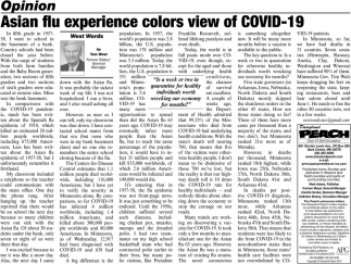Asian Flu Experience Colors View of COVID-19