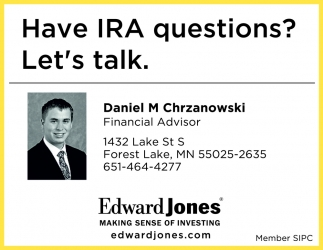 Have IRA Questions? Let's Talk