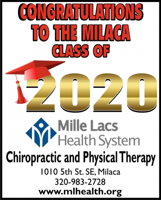 Congratulations to the Milaca Class of 2020