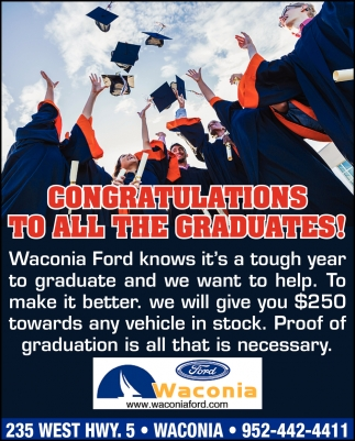 Congratulations to All the Graduates!