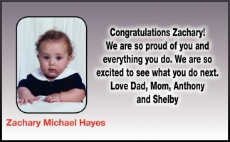 Zachary Michael Hayes