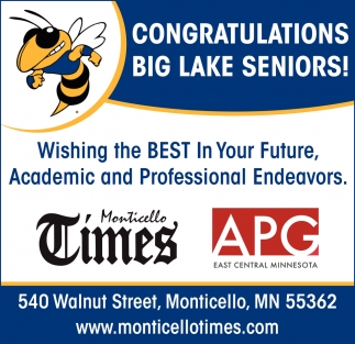 Congratulations Big Lake Seniors!