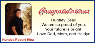 Huntley Robert Hinz