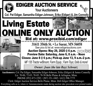 Living Estate Online Only Auction