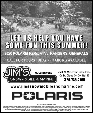 Let Us Help You Have Some Fun this Summer!