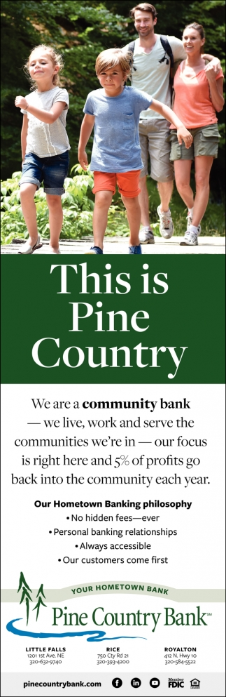 This is Pine Country