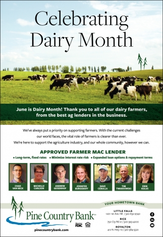 Celebrating Dairy Month