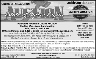 Online Estate Auction