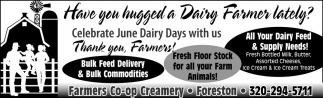 Have You Hugged a Dairy Farmers Lately?