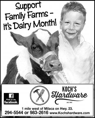 Support Family Farms - It's Dairy Month!