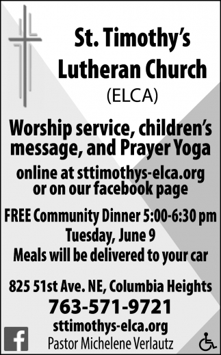 Worship Service, Children's Message, and Prayer Yoga