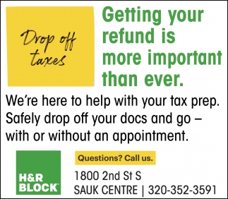 Drop Off Taxes