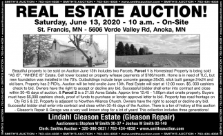 Real Estate Auction!