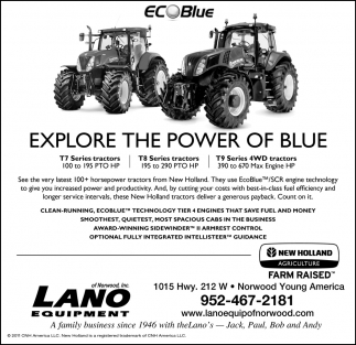 Explore the Power of Blue