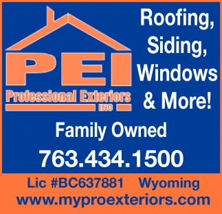 Roofing, Siding, Windows & More!