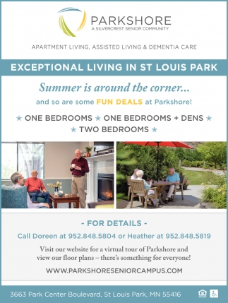 Exceptional Living in St Louis Park