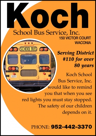 Serving District #110 For Over 80 Years