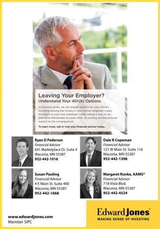 Leaving Your Employer?