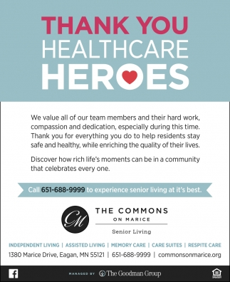 Thank You Healthcare Heroes