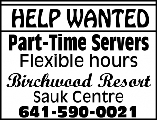 Part-Time Servers