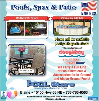 Pools, Spas & Patio