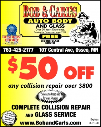 Complete Collision Repair and Glass Service