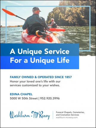 A Unique Service for a Unique Life