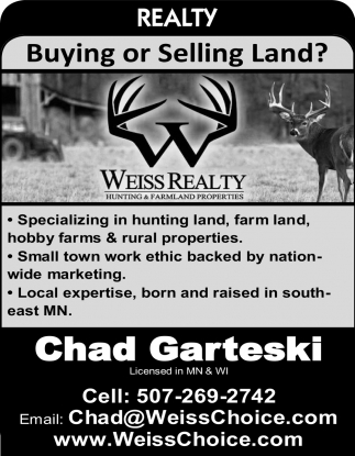 Buying or Selling Land?