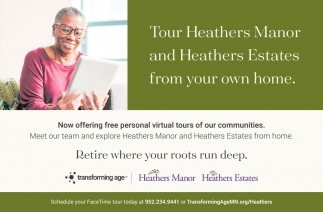Tour Heathers Manor and Heathers Estates from Your Own Home