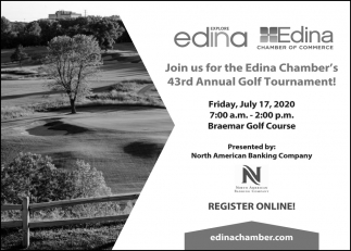 Join Us for the Edina Chamber's 43rd Annual Golf Tournament!