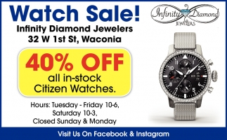 Watch Sale!