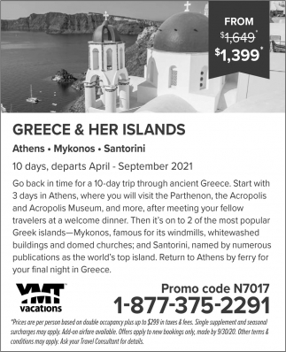 Greece & Her Islands
